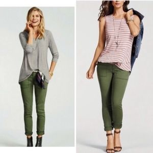 Cabi 5315 Skinny Jeans The Quest Olive Green Pants
